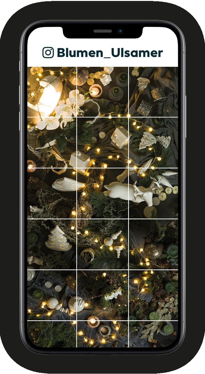 Auf Instagram finden Sie den zweiten Teil der digitalen Adventsausstellung von Blumen Ulsamer 2020